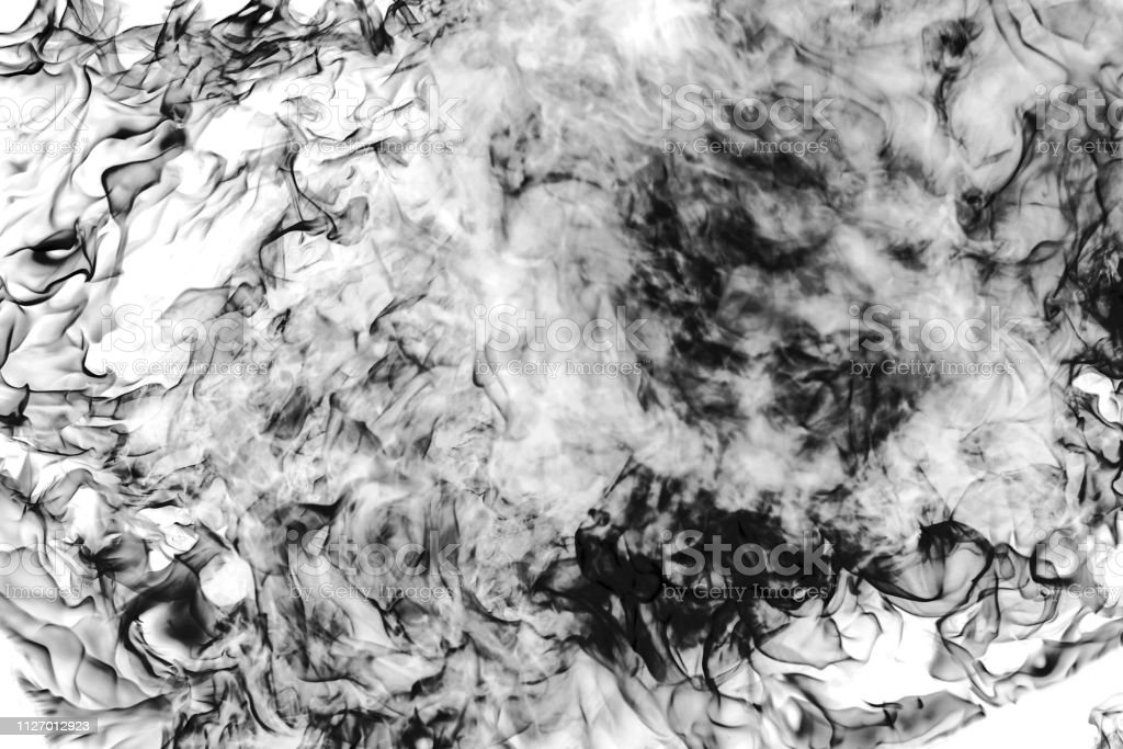 black and white fire sparkle on white background without fine focus