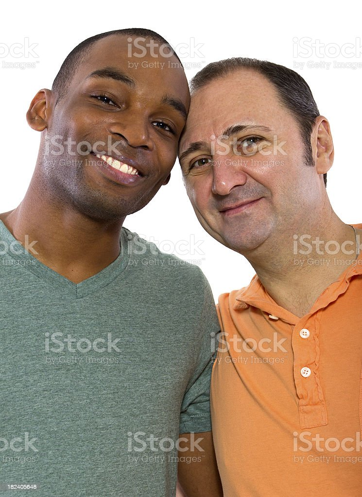 negro y blanco gay