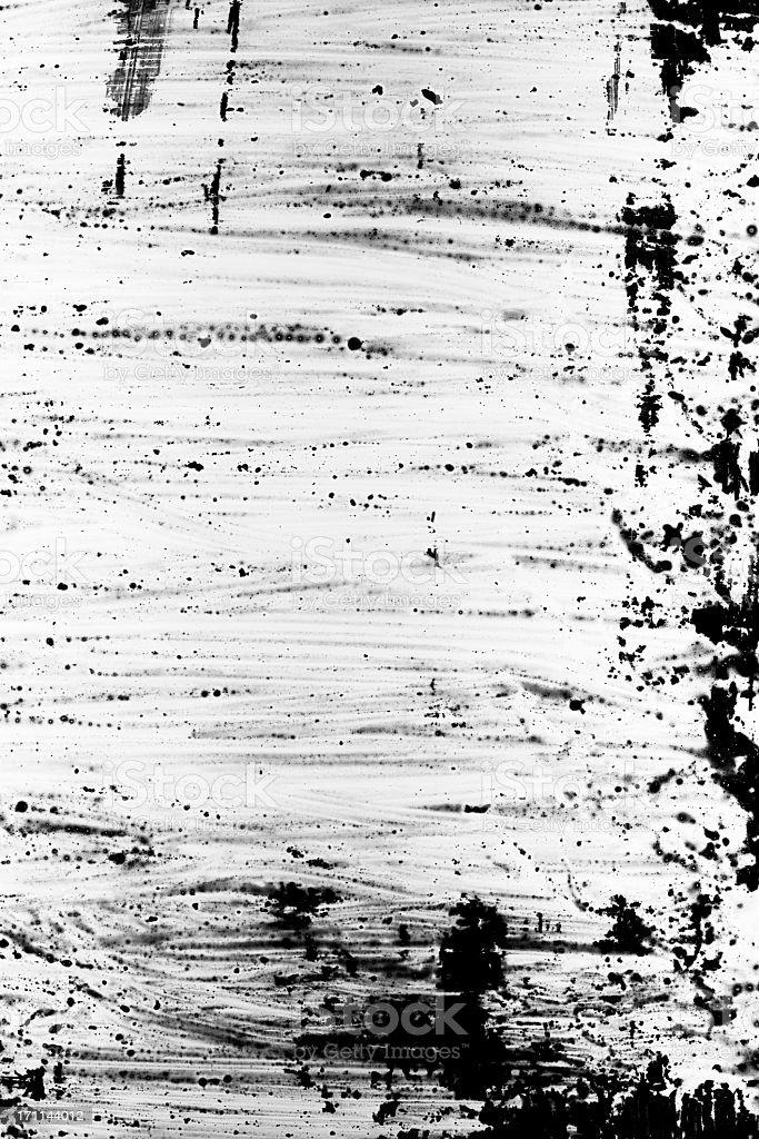 Schwarz und Weiß grunge-Malerei Hintergrund. – Foto