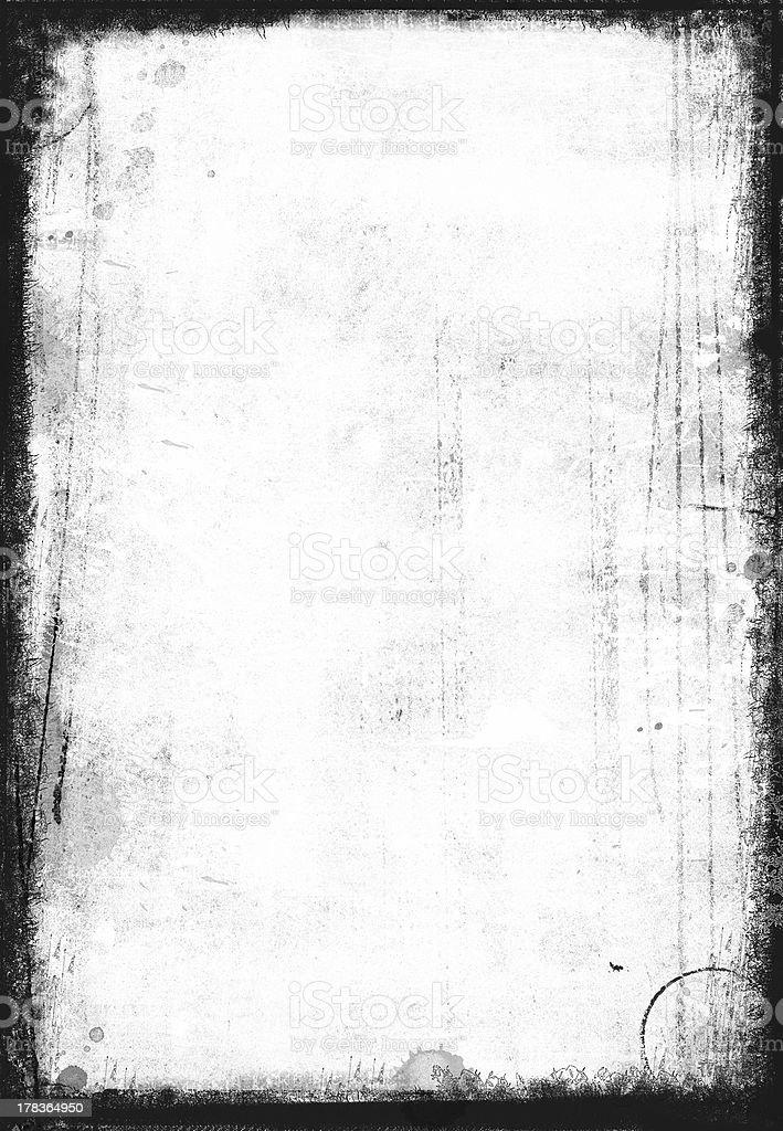 Black and white grunge stock photo