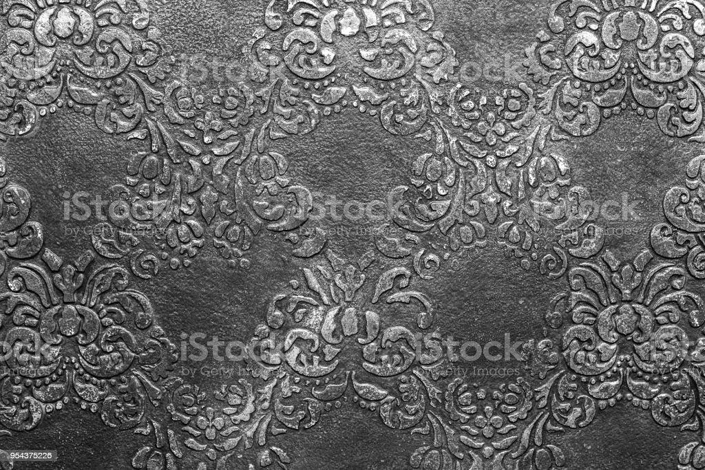 Black and white grunge texture stock photo