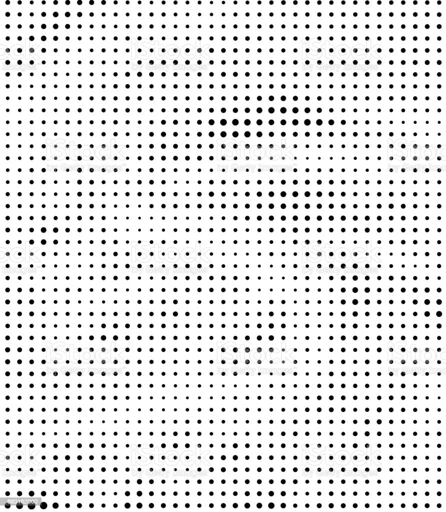 black and white halftone pattern background royalty-free 스톡 사진