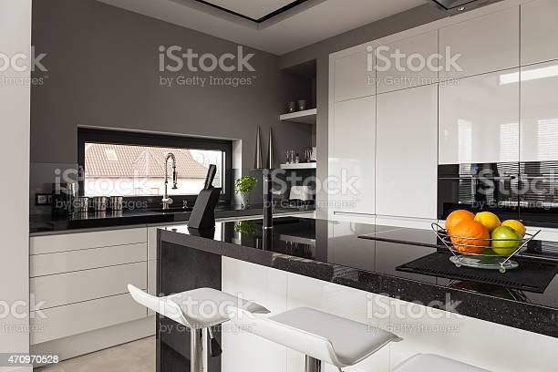 Black and white kitchen design picture id470970528?b=1&k=6&m=470970528&s=612x612&h=izmriurb6y wc yby bay8mutw6qriualkqq8ywoj08=