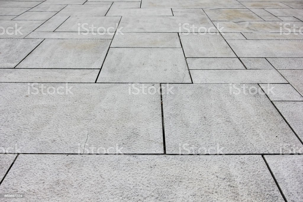 Black and White Marble floor texture background . stock photo