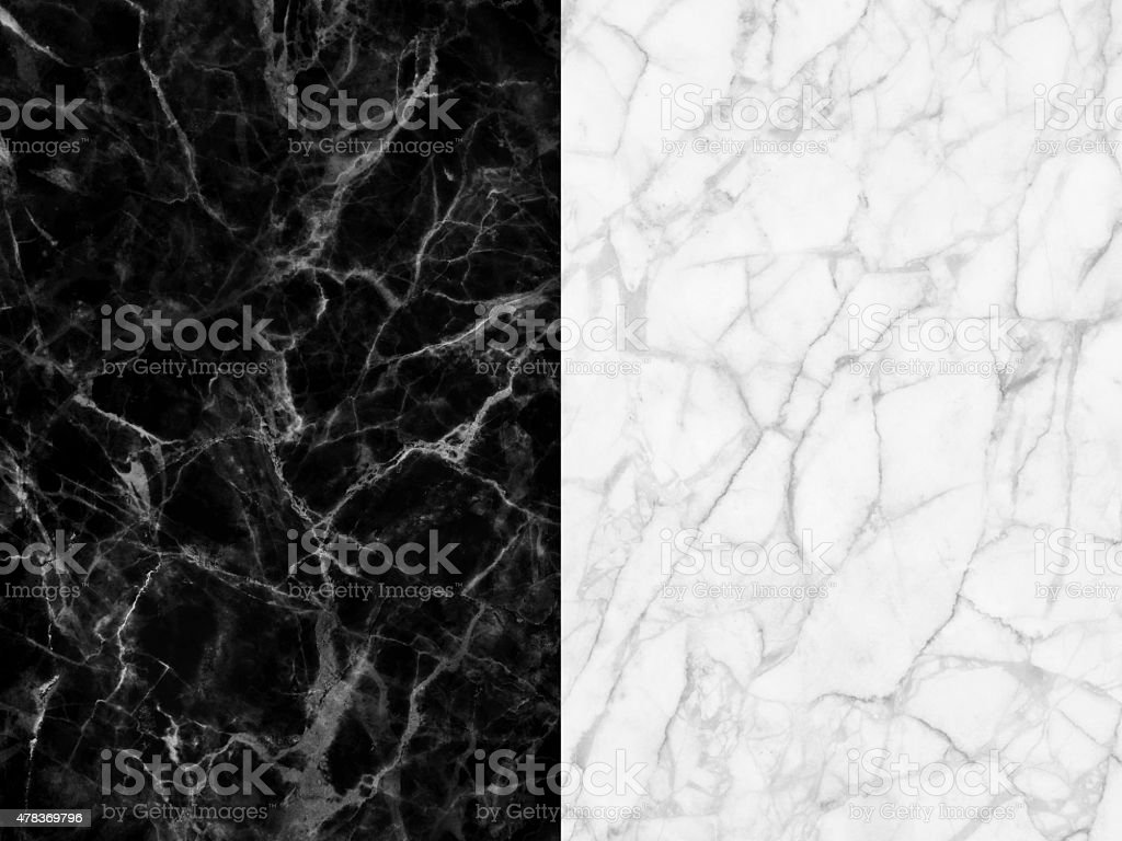 Black and white marble patterned texture background for design stock photo
