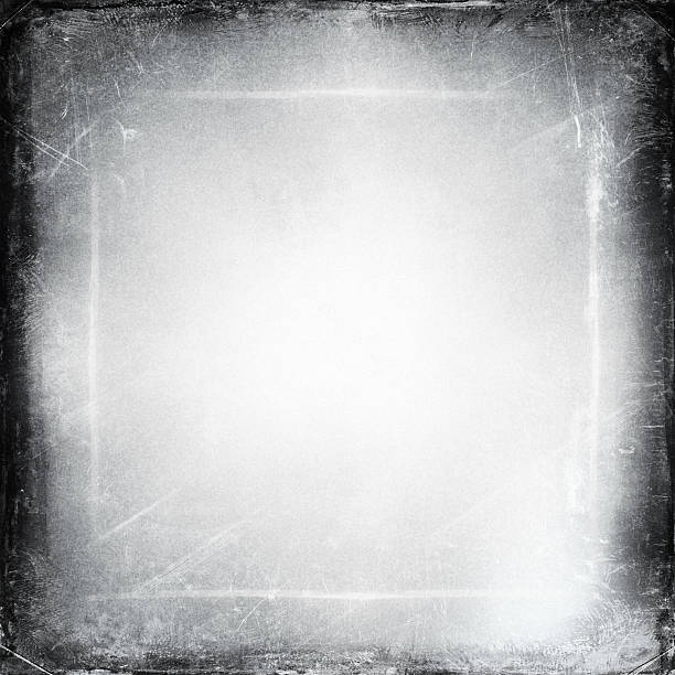 black and white medium format film background black and white medium format film background with light leaks, lots of grain, spots and scratches  negative image technique stock pictures, royalty-free photos & images