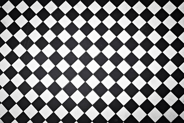 black and white outdoor tiles - black and white pattern 個照片及圖片檔