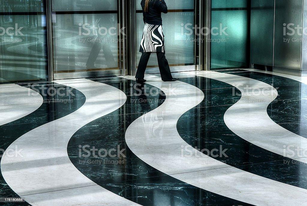 Schwarz-Weiß-Muster – Foto