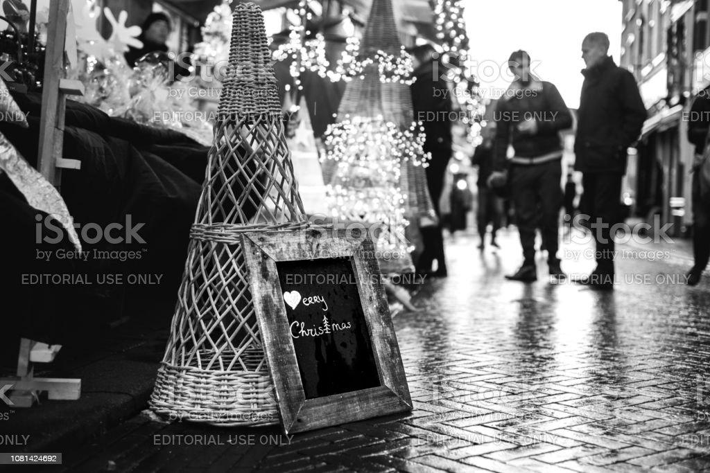Photo Libre De Droit De Photo Noir Et Blanc Dun Signe De