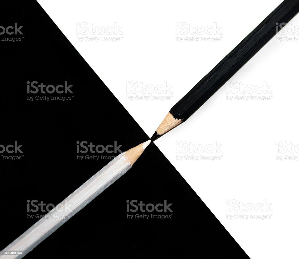 Black and White stock photo