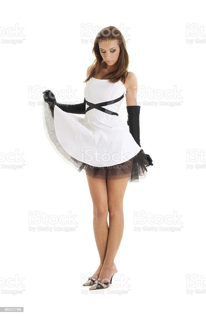 Bianco e nero foto stock royalty-free