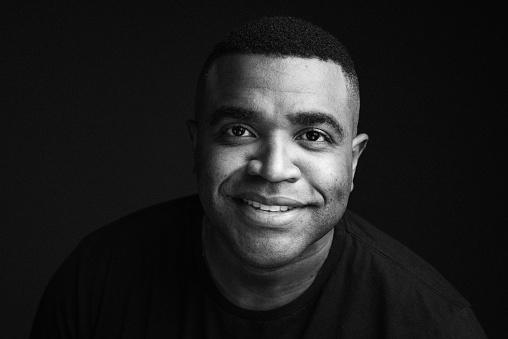 head photo, man, white and black, portrait
