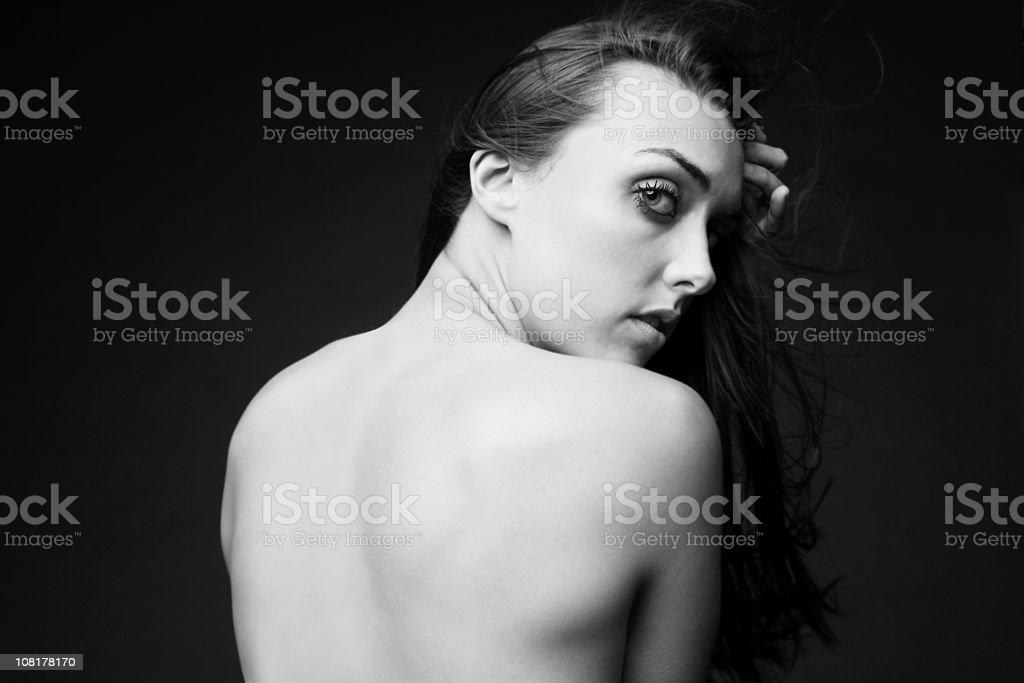 Moda modello nudo