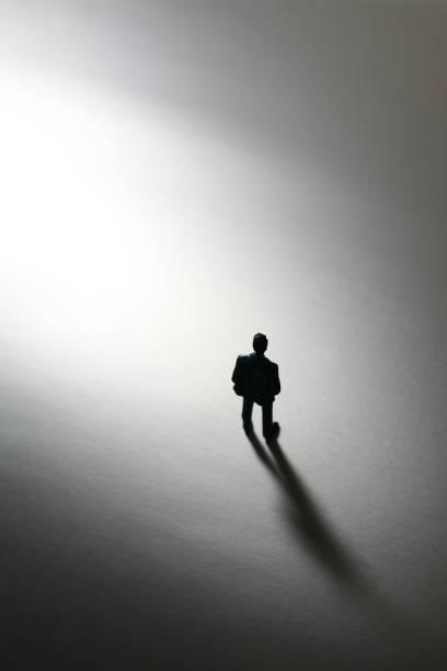 Photo noir et blanc en plastique de Jouet Homme d'affaires, une clé - Photo