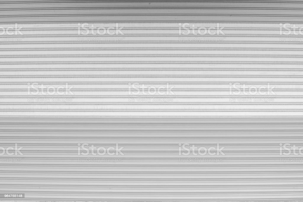 Black and white shutter door pattern texture background. royalty-free stock photo