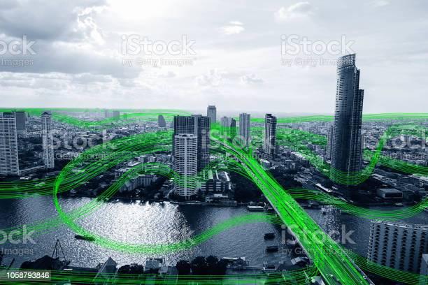 Black and white smart city with data communication flow network picture id1058793846?b=1&k=6&m=1058793846&s=612x612&h= cjc78 iopj5kzolb2rsua9fbbwfr8fj1oht1nvxxew=