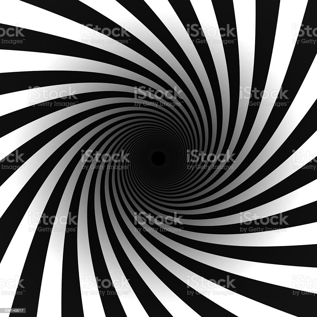 black and white spiral stock photo