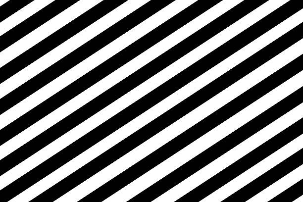 black and white striped background pattern, strait lines stock photo