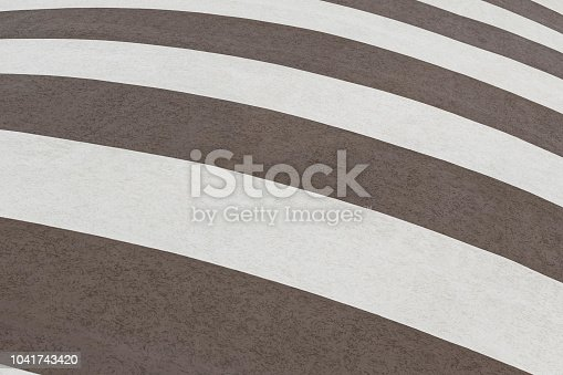 639291528istockphoto Black and white striped building painting. Modern wall design 1041743420