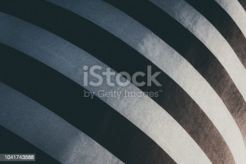 639291528istockphoto Black and white striped building painting. Modern wall design 1041743588