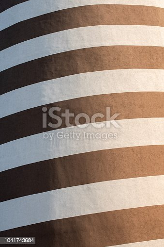 639291528istockphoto Black and white striped building painting. Modern wall design 1041743684