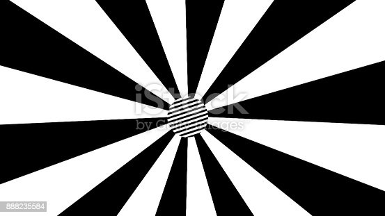 istock Black and white stripes background. Abstract digital backdrop 888235584