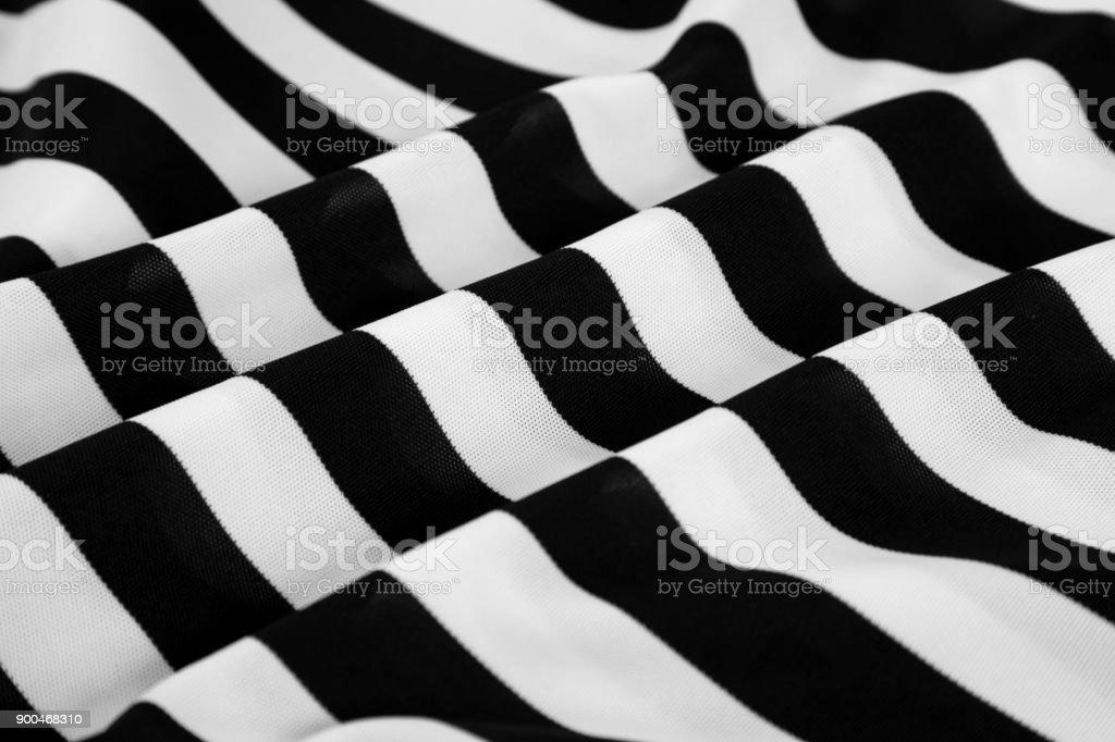 photo libre de droit de noir et blanc rayures sur tissu ondul banque d 39 images et plus d 39 images. Black Bedroom Furniture Sets. Home Design Ideas