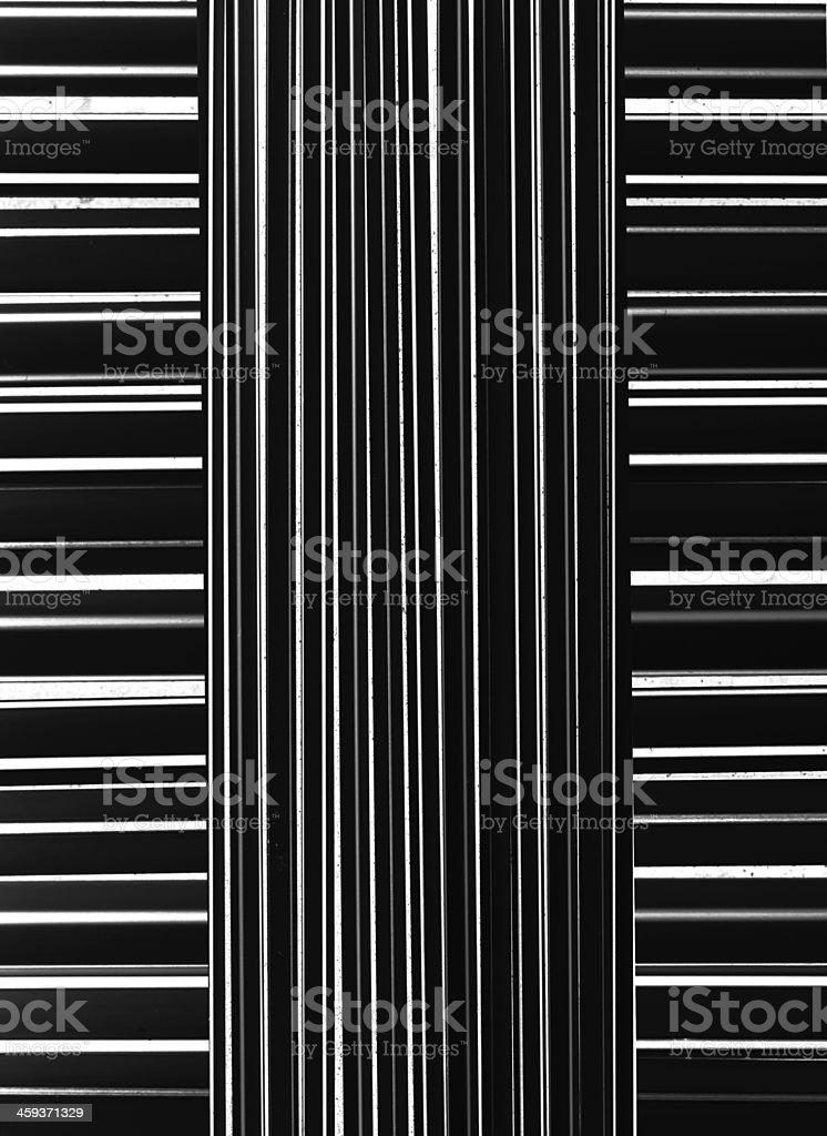 black and white stripes royalty-free stock photo