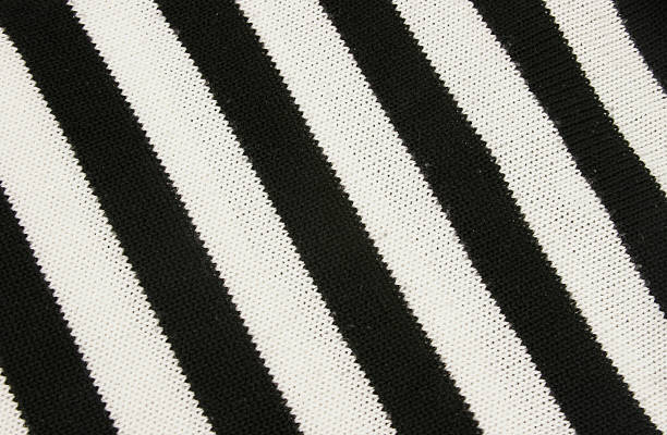 black and white stripes - kente cloth stock photos and pictures