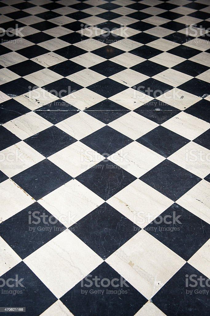 Black And White Tile Floor Background Stock Photo 470621188 Istock