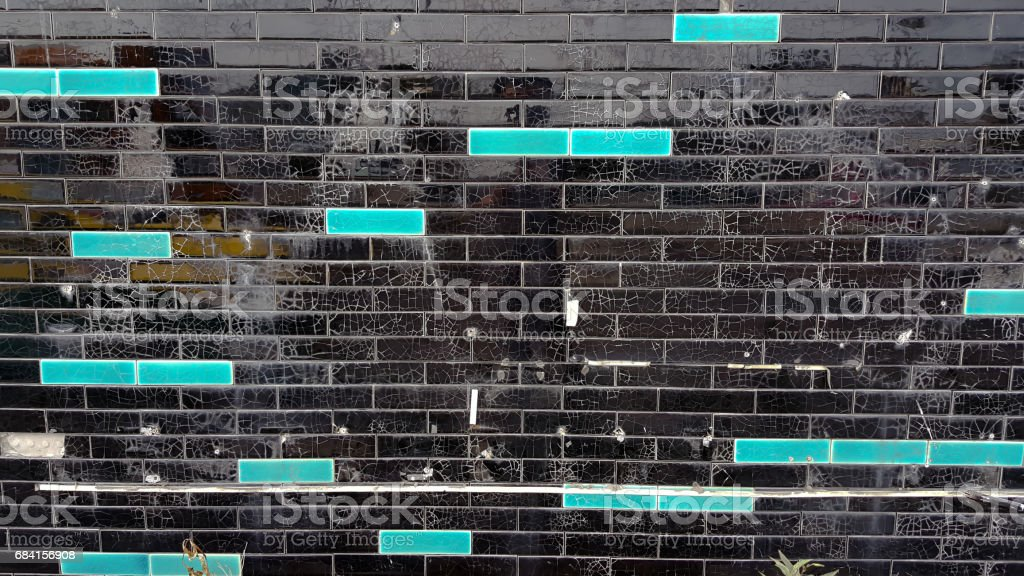 Zwart-wit tegel royalty free stockfoto