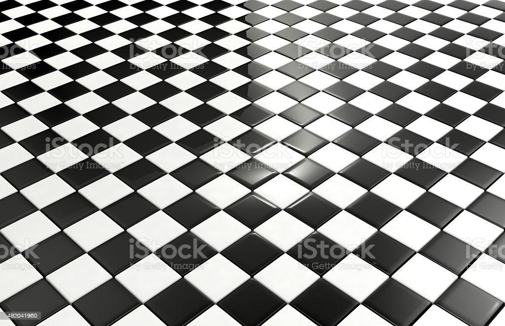 Piastrelle sfondo bianco e nero fotografie stock e altre immagini