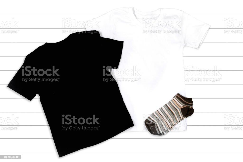 Blanc Libre Et Plat Lay Noir Sur De Fond Droit Un Photo Tshirts Cdobxe uOPZwkTXil