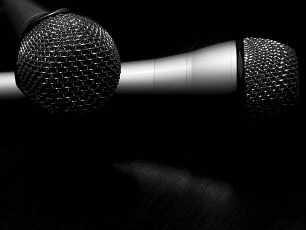 Royalty Free Microphone Black And White Pictures, Images ...