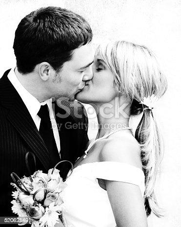 490225014istockphoto Black and white Wedding 520621461