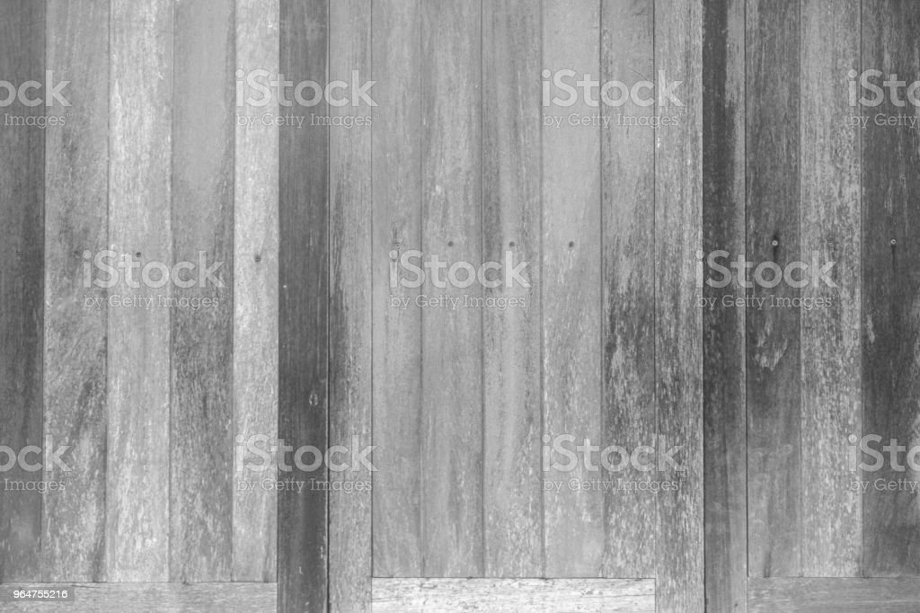 Black and white wood pattern texture for background. Wood surface for texture design. royalty-free stock photo