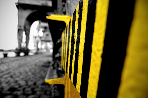 Black and yellow industry