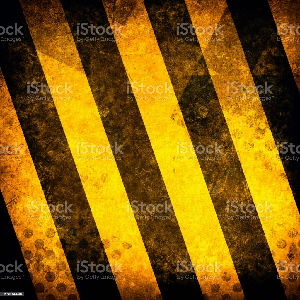 Black and yellow lines on a background grunge royalty-free stock photo