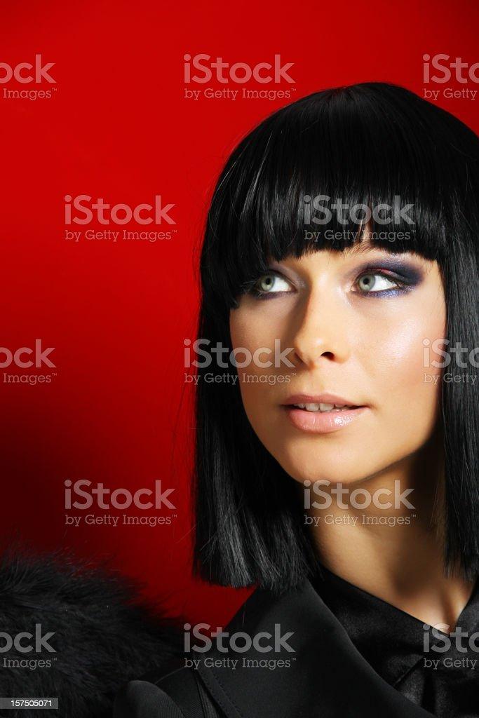 Black angel royalty-free stock photo