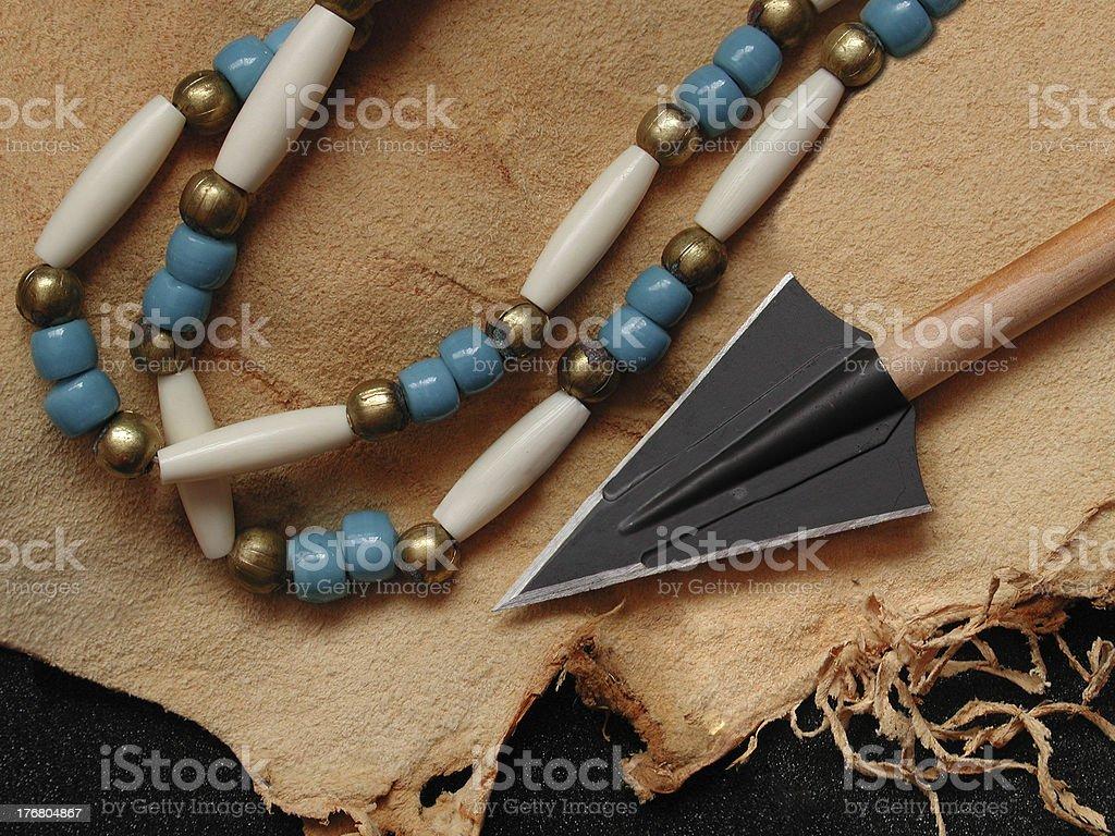 Black Arrowhead royalty-free stock photo