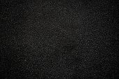 istock Black asphalt floor or road texture background. Black small stone floor texture background. 1224077982