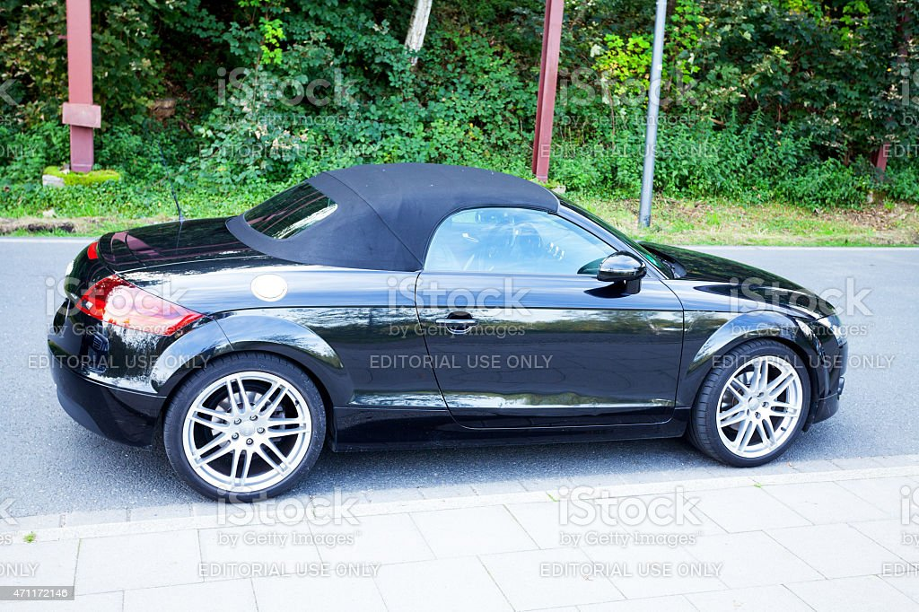 Black Audi Tt Convertible Stock Photo Download Image Now Istock
