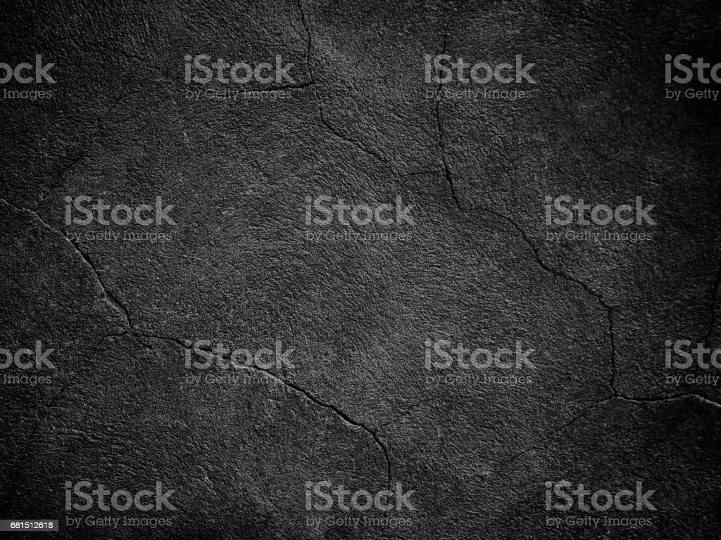 Black background, dark texture wall - foto stock