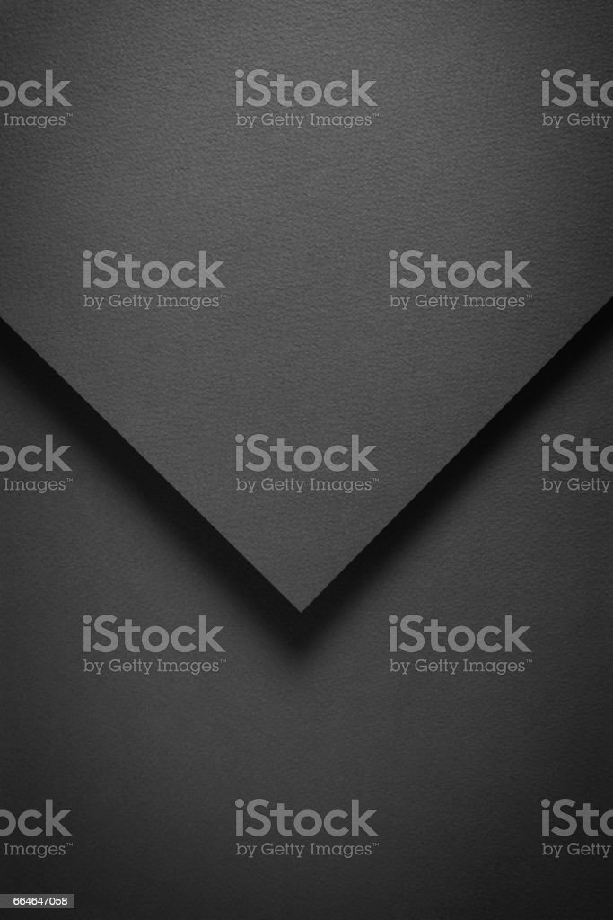 Black Background Mail Geometric stock photo