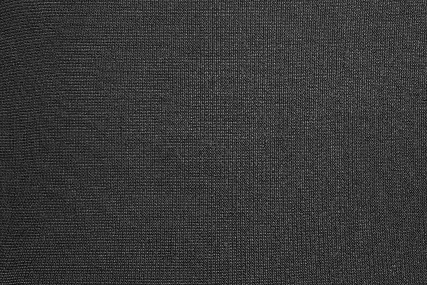 black background of synthetic fabric - nylon texture stock pictures, royalty-free photos & images