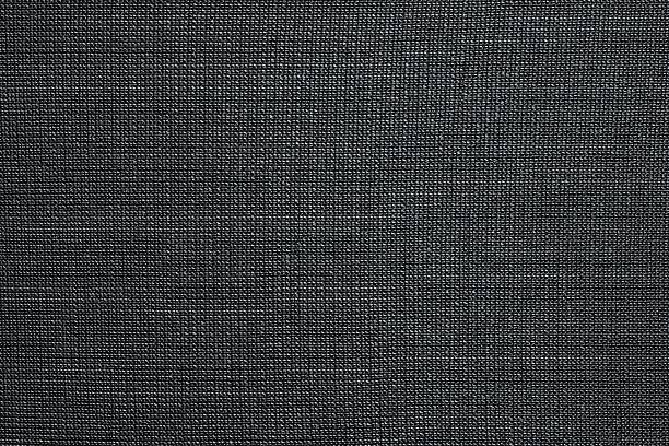 black background of texture synthetic fabric - nylon texture stock pictures, royalty-free photos & images