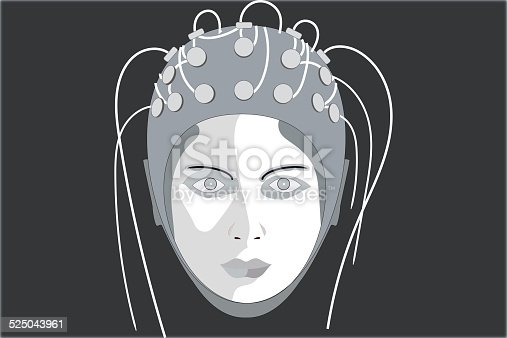 istock EEG, black background 525043961