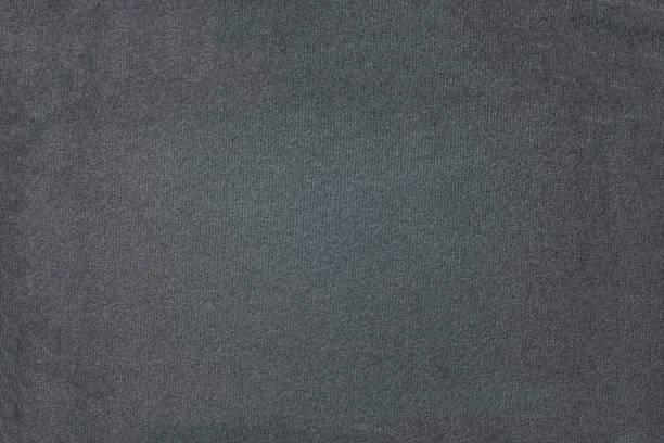 schwarzem hintergrundtextur des schwarzen tuch closeup - teppich baumwolle stock-fotos und bilder