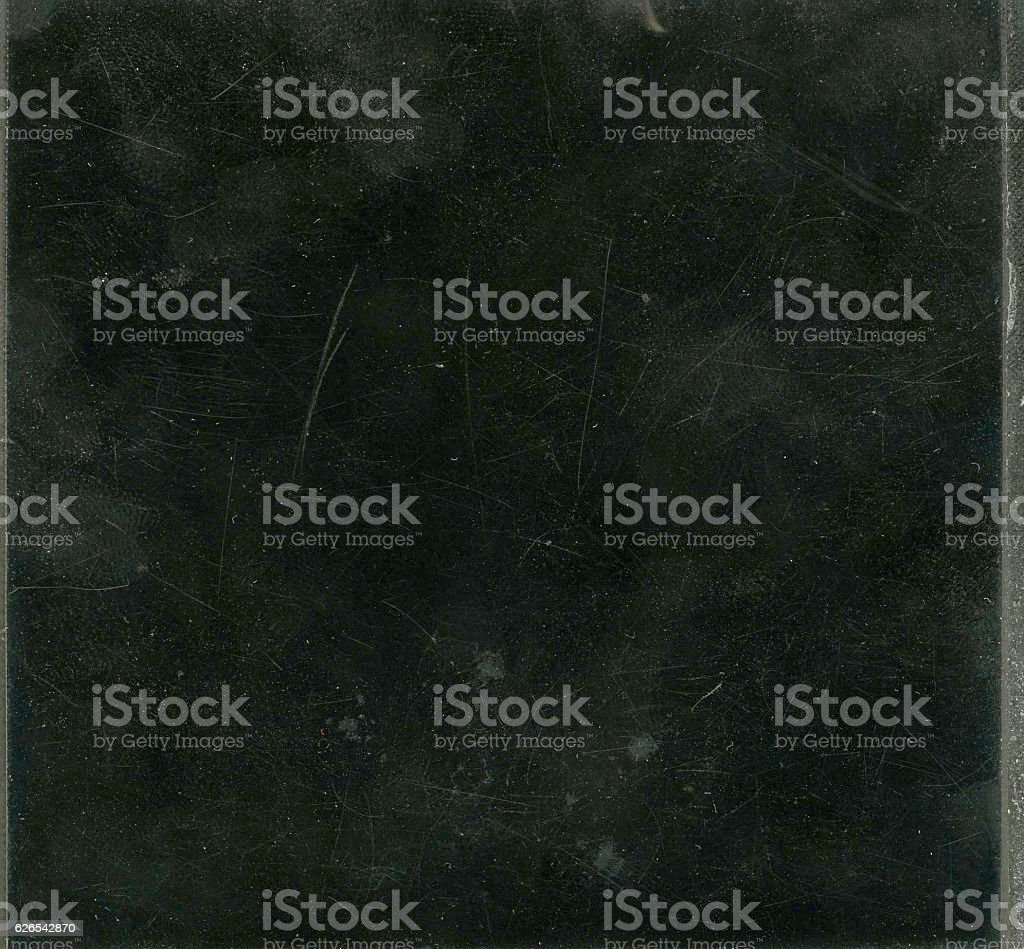 Black Background With Dust and Scratches stock photo