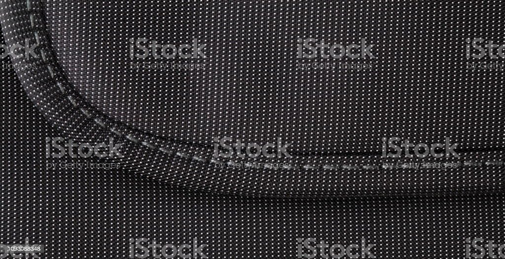 Black Bag with dots stock photo